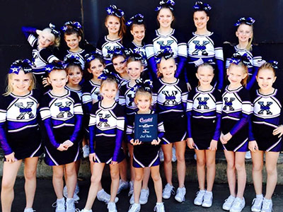 GA Xtreme Fitness Allstars Cheer Wraps Up Season Competitions in Panama City, FL