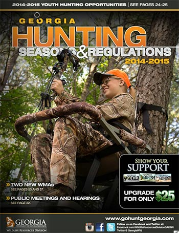 NEW GEORGIA HUNTING SEASONS & REGULATIONS GUIDE AVAILABLE ONLINE AND IN PRINT