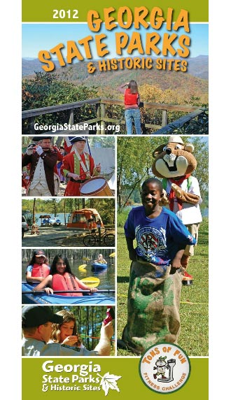 Free Guide to Georgia's State Parks & Historic Sites Now Available