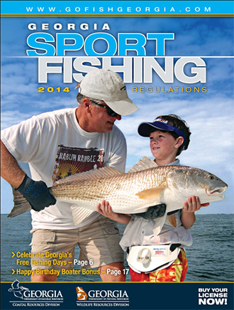 GEORGIA�S 2014 FISHING REGULATIONS NOW AVAILABLE