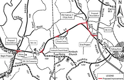 Georgia DOT Wants Your Two Cents in Project to Improve Hwy. 136 in Pickens