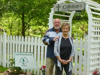 Keep Pickens Beautiful Green Thumb Award for April Awarded To George and Bonnie Callahan