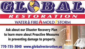 Turn to Global Restoration for Property Damage by Fire, Smoke, Wind, Water, or Mold