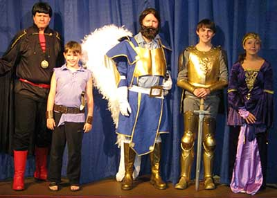 The Golden Knight Live! to be Performed at the Tater Patch Players Theater