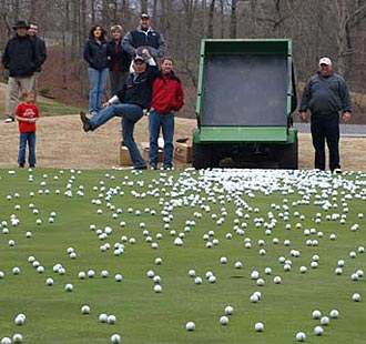 Chance to win $50, $100 or $200 in the 5th Annual Seal of Responsibility Golf Ball Drop