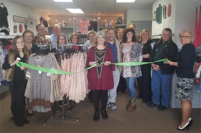 Gracie's Clothing Ribbon Cutting