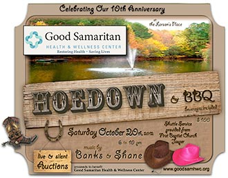 Hoedown goal to raise $50K for Good Samaritan