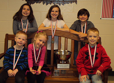 Harmony Elementary Wins Pickens County Math Bowl