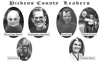 Haunted Pickens Leaders