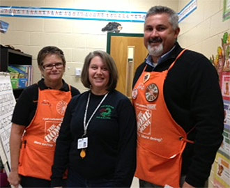 Home Depot in Jasper honors Teacher of the Quarter Recipients