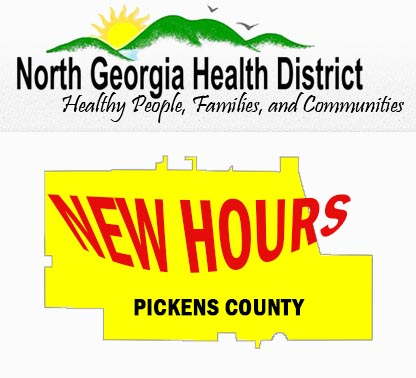 Pickens County Health Department Hours Changing