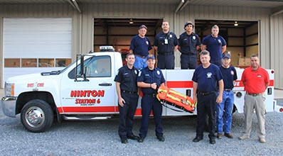 Hinton Fire Department Purchases Safety Equipment They Hope to Never Use