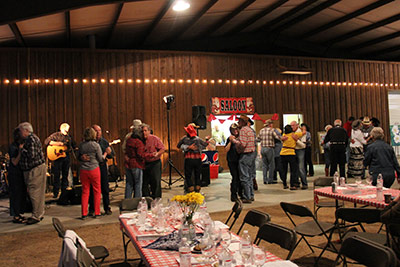 Revelers enjoyed food, drinks and dancing at last year's Good Samaritan Hoedown