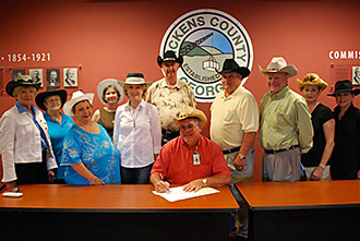Hoedown Day proclaimed in Pickens County