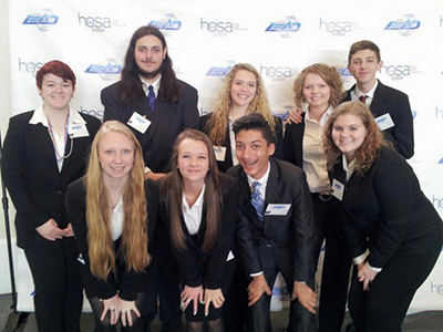 Nine PHS HOSA Students Attend State Leadership Conference