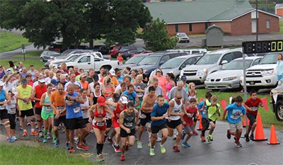 The Hot Biscuit 5K Run and One Mile Fun Run is Saturday, July 19th