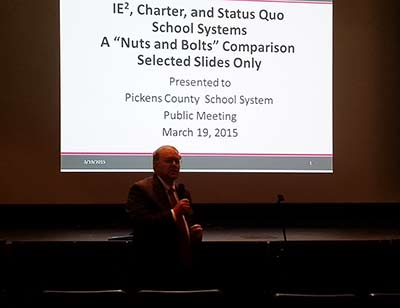 IE2, Charter & Status Quo School Systems Public Meeting (Video)