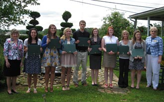 Scholarships Awarded by Appalachian Chapter of IAAP
