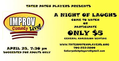 Another Improv Comedy Night For You!