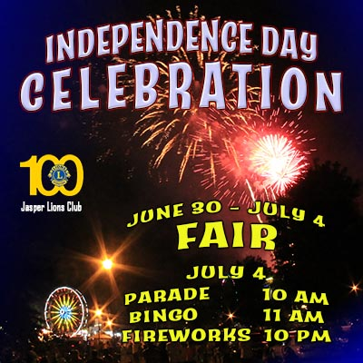 Jasper Lions Club Independence Day Celebration