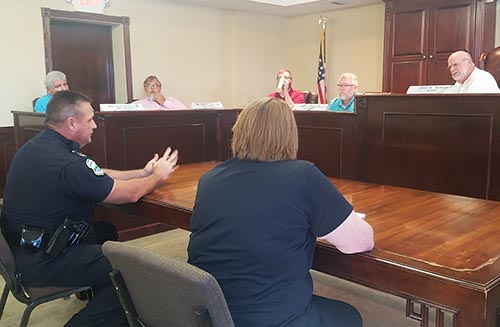 Jasper City Council August 2018