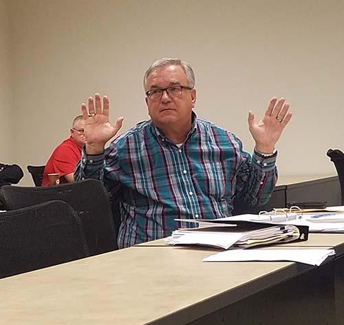 Jasper City Council November 2018
