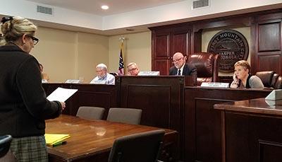 Jasper City Council February 2017