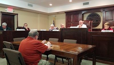 Jasper City Council March 2017