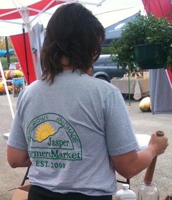 Jasper Farmers Market to Open April 2
