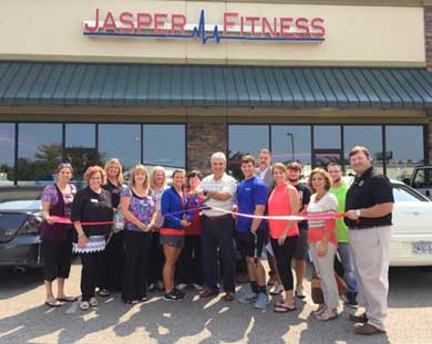 Jasper Fitness Joins Pickens Chamber of Commerce