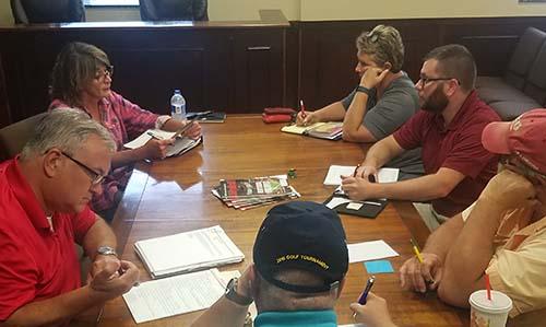 Jasper City Council Work Session August 2018