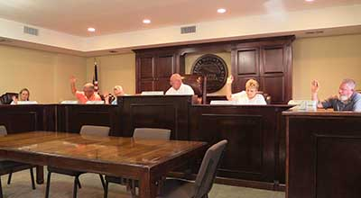 Jasper City Council July 2015 Meeting (Video)