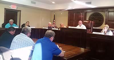 Jasper City Council September 2015 Meeting (Video)