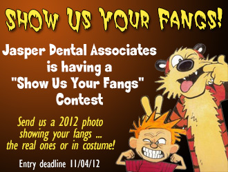 Jasper Dental Associates Announces 'Show Us Your Fangs' Photo Contest