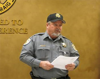 County Marshal Spoke at Keep Pickens Beautiful March Board Meeting