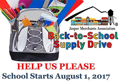 JMA Back-to-School Supply Drive