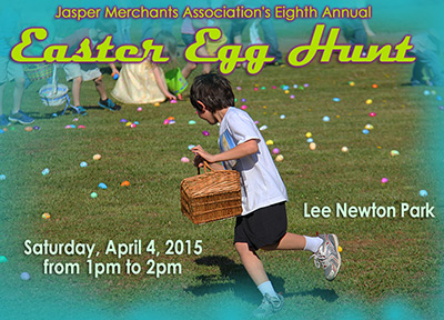 8th Annual Easter Jasper Merchants Association Egg Hunt