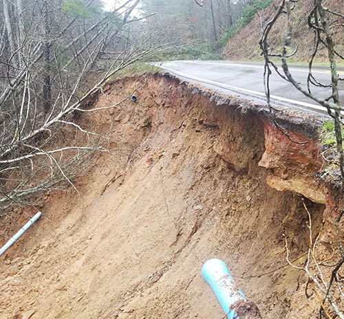 Portion of Jones Mountain Road CLOSED