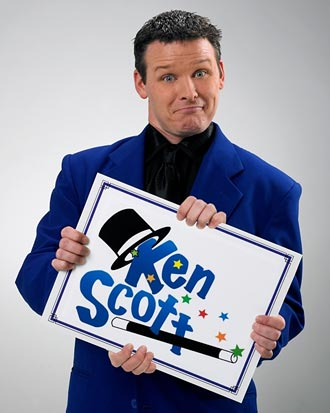 Ken Scott, Magician Extraordinaire at Pickens County Library on May 31st