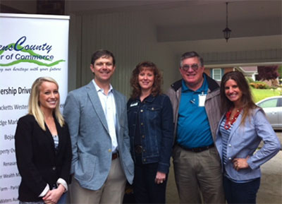 Kiker Wealth Management Host Pickens County Chamber First Friday Morning Mixer