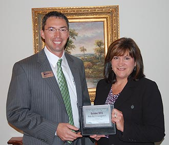 Kiker Wealth Management named Pickens Chamber's October Small Business of the Month