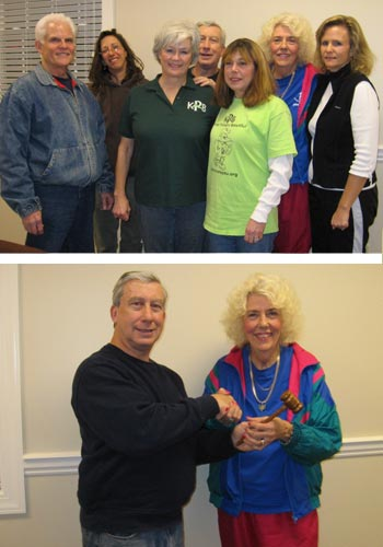 Keep Pickens Beautiful January Board Meeting sees changes in leadership for 2011