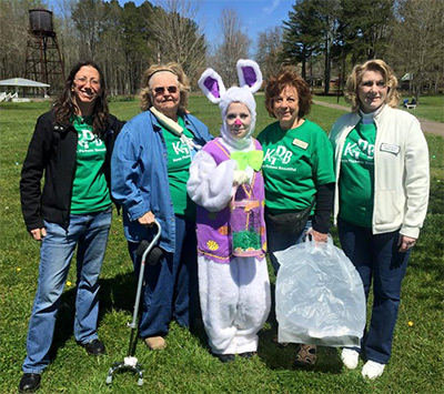 Keep Pickens Beautiful Helped Recycle Easter Eggs at JMA Hunt