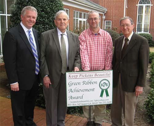 Green Ribbon Achievement Awarded To Jasper First Baptist Church