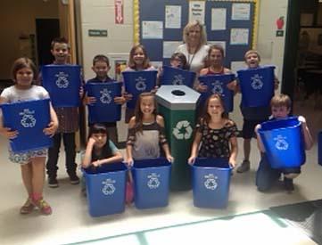 Hill City Elementary School Updates Recycle Program
