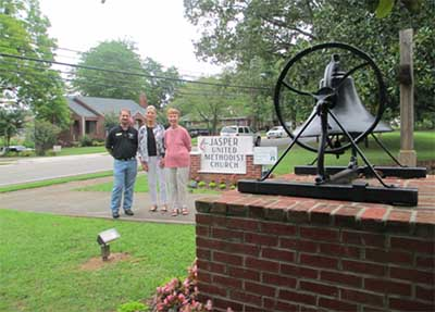 Jasper United Methodist Church Wins KPB's Green Ribbon Award for September