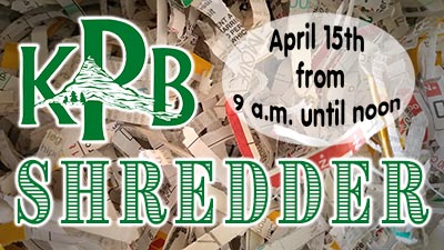 Document Shredder is Back April 15