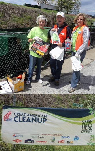 Keep Pickens Beautiful Volunteers Came Out in Several Events This Past Weekend