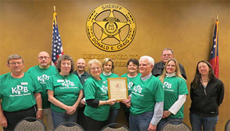 Keep Pickens Beautiful Honored by Keep America Beautiful  for High Performance Achieved in 2012
