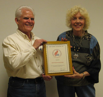 Keep Pickens Beautiful Honored by Keep America Beautiful  for High Performance Achieved in 2011